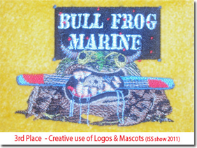 3rd Place - Creative use of Logos & Mascots (ISS show 2011)