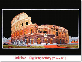 3rd Place - Digitizing Artistry (ISS show 2015)